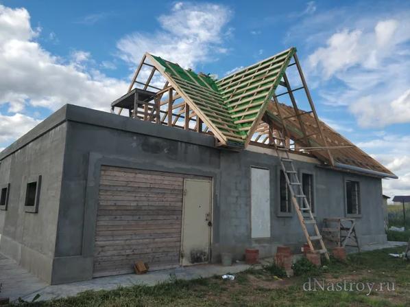 сколько стоит крыша частного дома